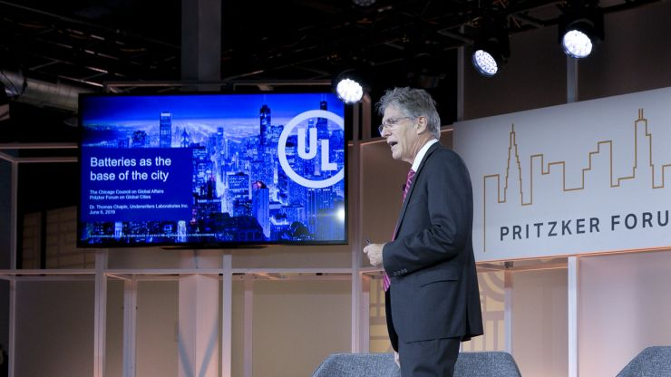 Corporate partner UL at the 2019 Pritzker Forum on Global Cities